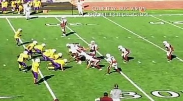 Greatest Play Ever In Football Done By Driscoll Middle School