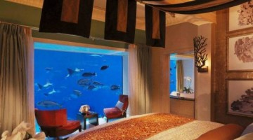 If You've Never Seen An Underwater Hotel, This Room In Dubai Will Literally Have You Sleeping With The Fishes