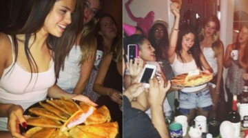 8 Celebrities Caught Stuffing Their Face With Fast Food
